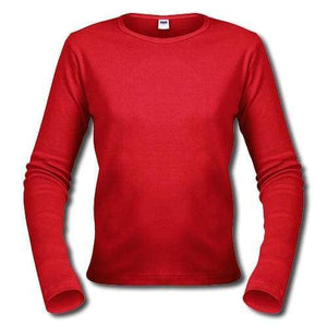 One In The City Customize Your Long Sleeve T-Shirt! 00275 - Xs / Red