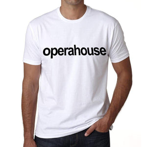 Opera House Tourist Attraction Mens Short Sleeve Round Neck T-Shirt 00071