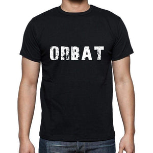 Orbat Mens Short Sleeve Round Neck T-Shirt 5 Letters Black Word 00006 - Casual