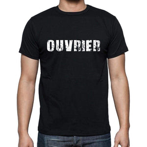 Ouvrier French Dictionary Mens Short Sleeve Round Neck T-Shirt 00009 - Casual