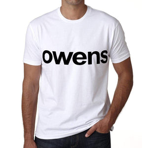 Owens Mens Short Sleeve Round Neck T-Shirt 00052