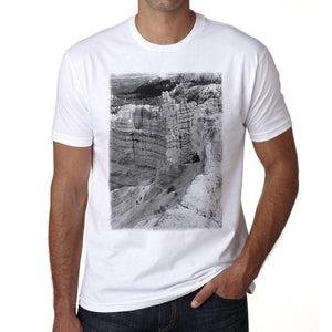 Parks Canyon Bryce Mens Short Sleeve Round Neck T-Shirt