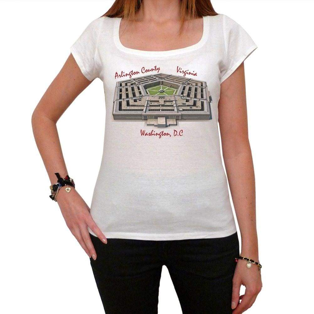 Pentagon Tshirt Womens Short Sleeve Scoop Neck Tee 00181