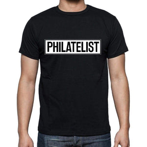 Philatelist T Shirt Mens T-Shirt Occupation S Size Black Cotton - T-Shirt