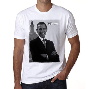 President Obama Mens Short Sleeve Round Neck T-Shirt