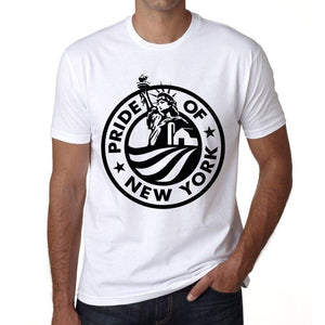 Pride Od New York Mens Short Sleeve Round Neck T-Shirt