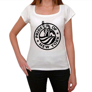 Pride Of New York Womens Short Sleeve Round Neck T-Shirt 00111