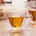 180ml/240ml Double Wall Glass Mug Tea Heart Love Shaped Heat-Resisting Drinkware Beer Mug Juice Cup Coffee Cups Mug Gift