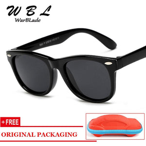 WarBLade Kids Boys TR90 Unbreakable Polarized Sunglasses Children Girls Safety Polaroid Sun Glasses Sport UV400 Mirror-Sunglasses-Ultrabasic