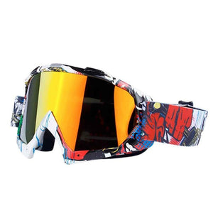 New Style Ski Men Women Anti-fog Winter Eyewear Goggles Anti-uv Snowboard Snow Outdoor Skiing Windproof Glasses