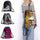 Sequin Drawstring Bags Reversible Sequin Backpack Glittering Shoulder Bags for Girls Women New