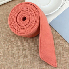 195x4.5cm Unisex Faux Wool Belt Waistband Wrap Woolen Sash Tie Fashion Wool Buckles for New Overcoat Accessories-Tie-Ultrabasic