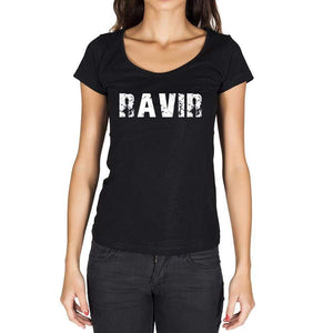 Ravir French Dictionary Womens Short Sleeve Round Neck T-Shirt 00010 - Casual