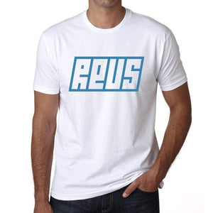 Reus Mens Short Sleeve Round Neck T-Shirt 00115 - Casual
