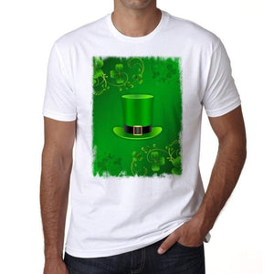 Saint Patricks Day With Top Hat And Horseshoes T-Shirt For Men T Shirt Gift 00150 - T-Shirt