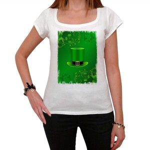 Saint Patricks Day With Top Hat And Horseshoes T-Shirt For Women T Shirt Gift 00151 - T-Shirt