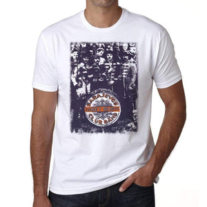Sarajevos Lonely Hearts Band Tshirt Mens Tee White 100% Cotton Actors 00062