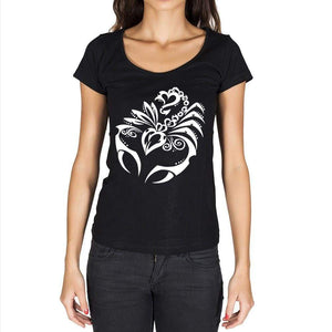 Scorpion Tattoo Black Gift Tshirt Black Womens T-Shirt 00165