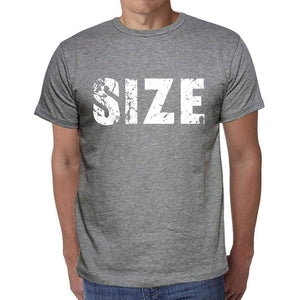 Size Mens Short Sleeve Round Neck T-Shirt 00039 - Casual