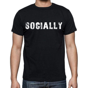 Socially Mens Short Sleeve Round Neck T-Shirt - Casual