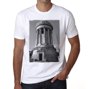 Soldiers And Sailors Monument Riverside Park New York City Mens Short Sleeve Round Neck T-Shirt