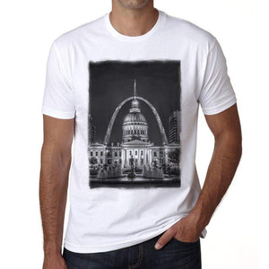 St. Louis Mens Short Sleeve Round Neck T-Shirt