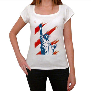 Statue Of Liberty 2 Womens Short Sleeve Round Neck T-Shirt 00111
