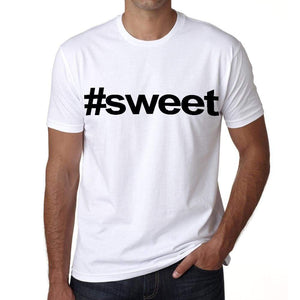 Sweet Hashtag Mens Short Sleeve Round Neck T-Shirt 00076