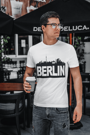 Berlin t shirts men, <span><span>Short Sleeve</span></span> T-Shirt, T Shirt, Cotton Tee Shirt for <span>Men's</span> 00182
