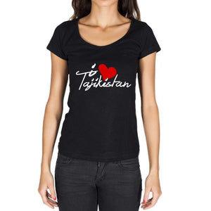 Tajikistan Womens Short Sleeve Round Neck T-Shirt - Casual