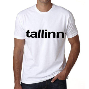 Tallinn Mens Short Sleeve Round Neck T-Shirt 00047