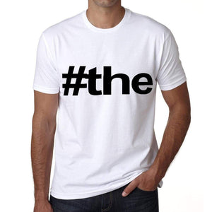 The Hashtag Mens Short Sleeve Round Neck T-Shirt 00076
