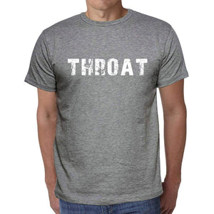 Throat Mens Short Sleeve Round Neck T-Shirt 00045 - Casual