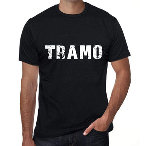 Tramo Mens T Shirt Black Birthday Gift 00550 - Black / Xs - Casual