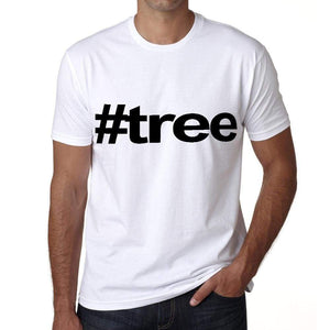 Tree Hashtag Mens Short Sleeve Round Neck T-Shirt 00076