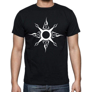 Tribal Key Tattoo Black Gift T Shirt Mens Tee Black 00166
