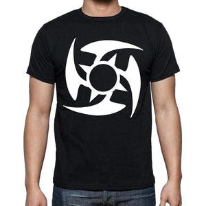 Tribal Star Tattoo Black Gift T Shirt Mens Tee Black 00166