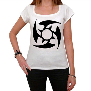 Tribal Star Tattoo Womens Short Sleeve Scoop Neck Tee 00161