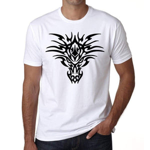 Tribal Tattoo 1 Mens White Tee 100% Cotton 00162