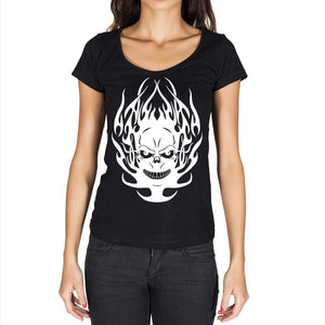 Tribal Tattoo 5 Black Gift Tshirt Black Womens T-Shirt 00165
