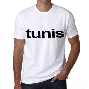 Tunis Mens Short Sleeve Round Neck T-Shirt 00047