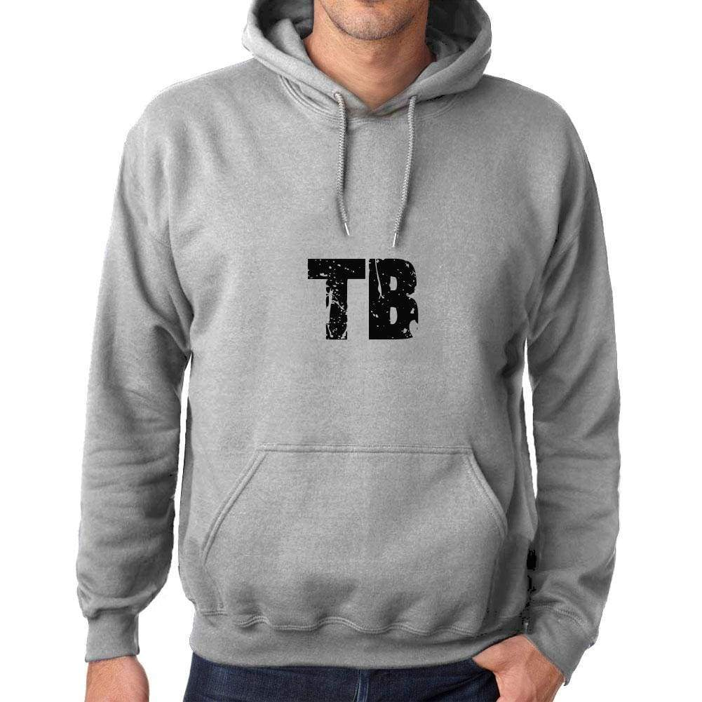Unisex Printed Graphic Cotton Hoodie Popular Words Tb Grey Marl - Grey Marl / Xs / Cotton - Hoodies