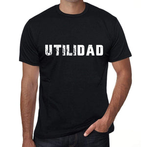 Utilidad Mens T Shirt Black Birthday Gift 00550 - Black / Xs - Casual