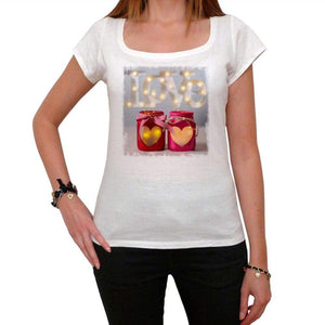 Valentines Day Lanterns Tshirt White Womens T-Shirt 00157
