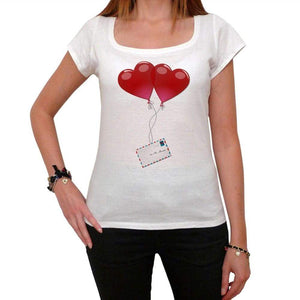 Valentines Day - Love Is In The Air Tshirt White Womens T-Shirt 00157