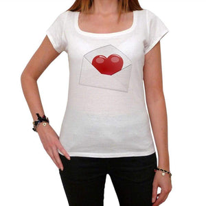 Valentines Day - Love Letter 1 Tshirt White Womens T-Shirt 00157