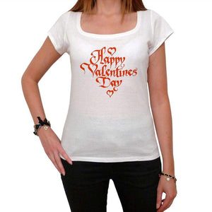 Valentines Day Tshirt White Womens T-Shirt 00157