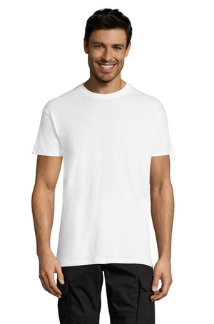 <span>Advanced Order</span> • <span>Custom Men&#x27;s Crew Neck T-shirt</span> • <span>Your multicolor design on the t-shirt color of your choice</span> (42 <span>colors</span>)