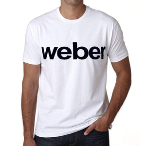 Weber Mens Short Sleeve Round Neck T-Shirt 00052