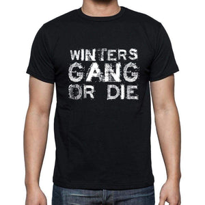 Winters Family Gang Tshirt Mens Tshirt Black Tshirt Gift T-Shirt 00033 - Black / S - Casual